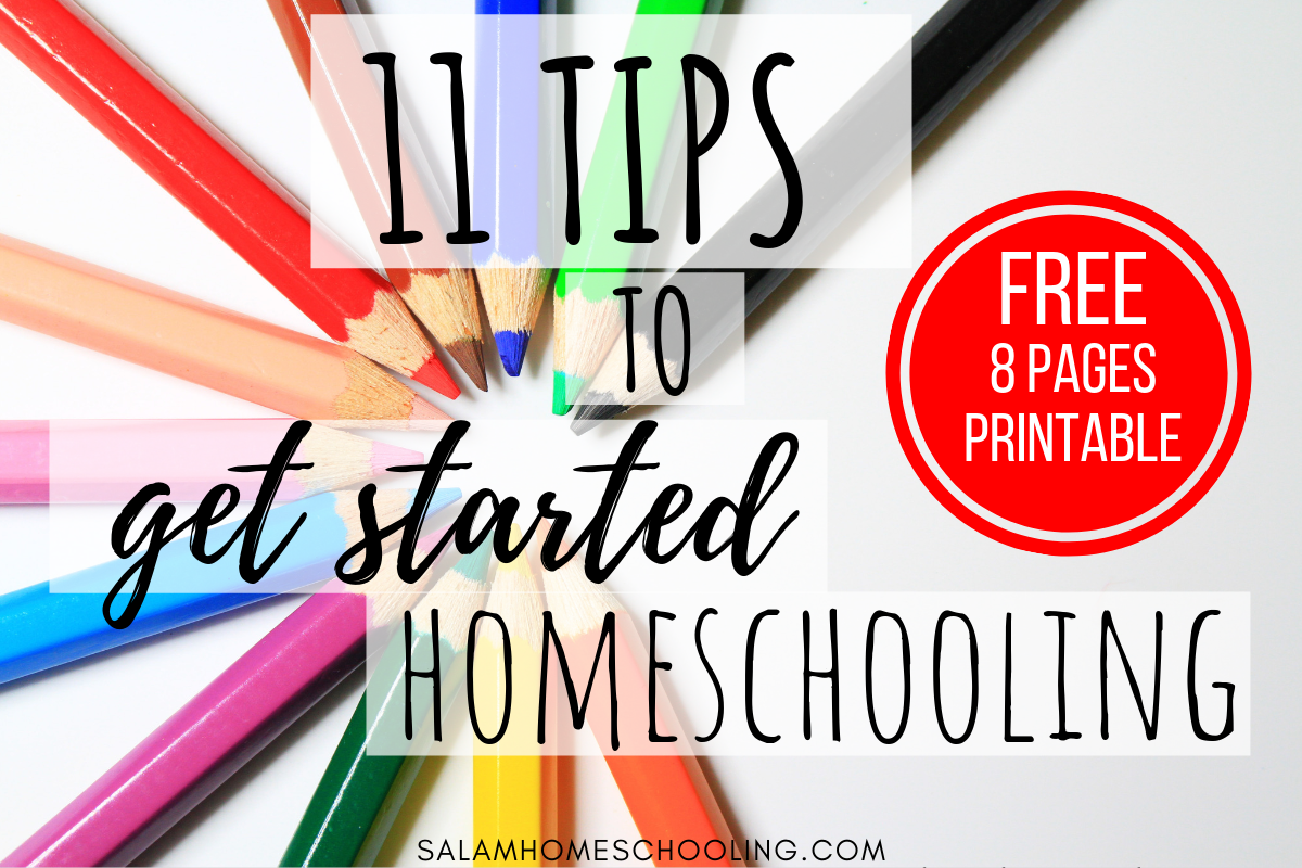 How to start homeschooling tips beginner
