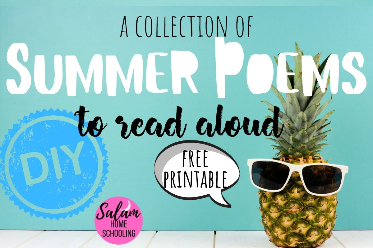 Summer poems for children poetry teatime kids read aloud homeschool
