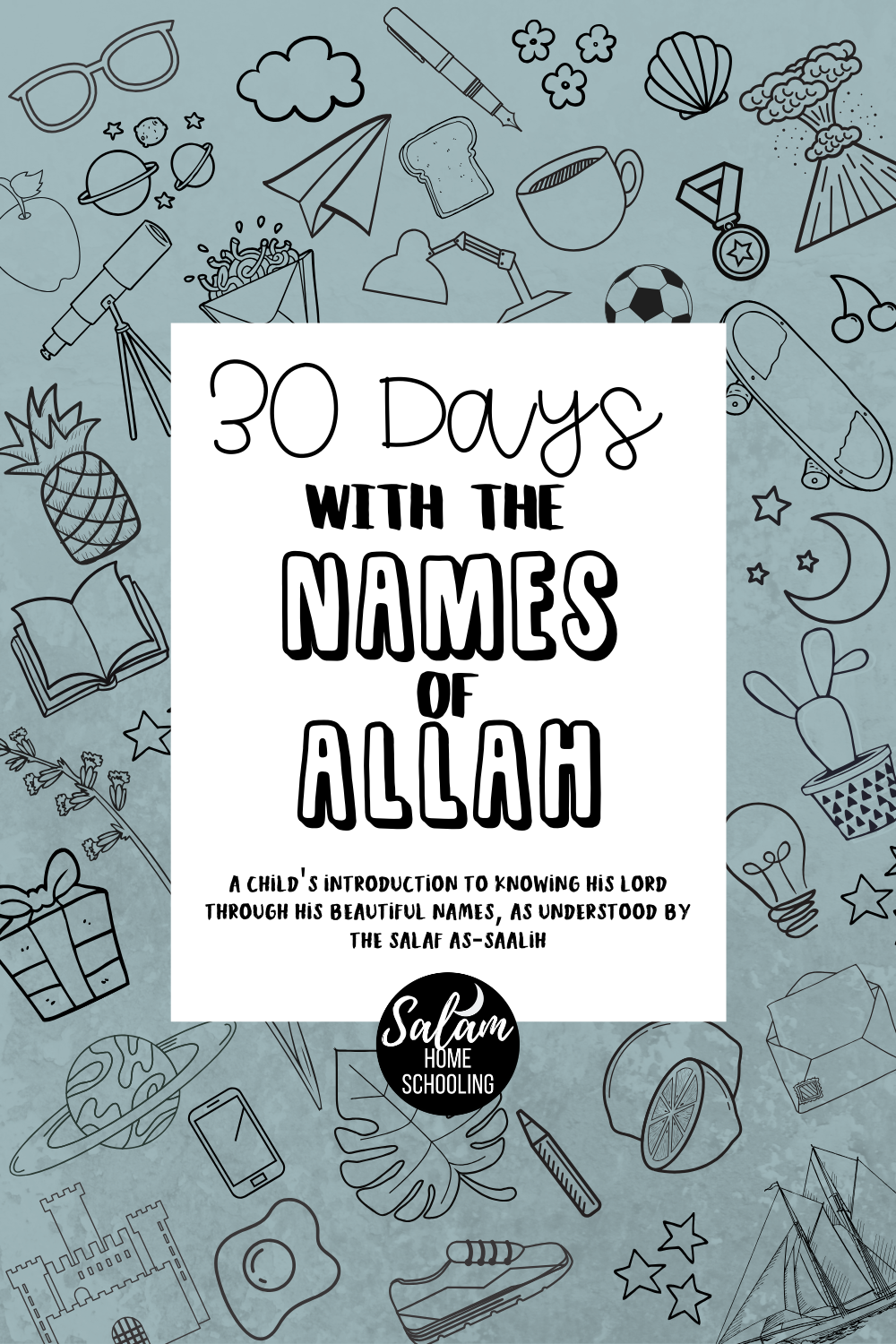 FREE Names of Allah workbook