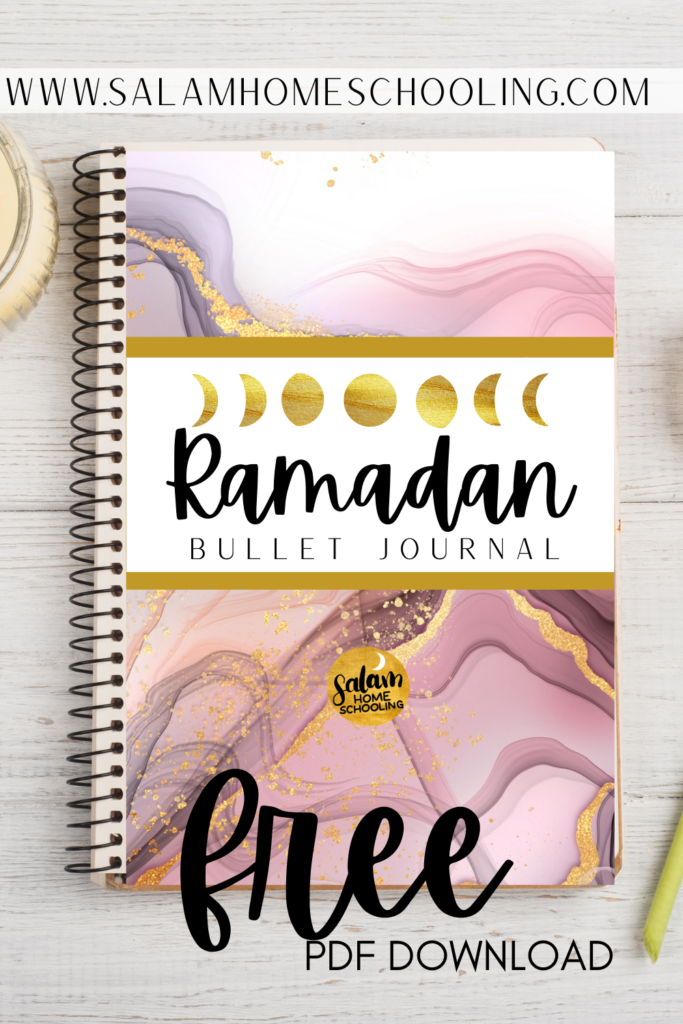 Islamic resources Ramadan Muslimsh journal planner