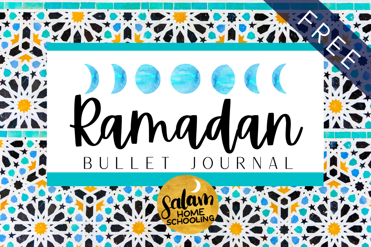 Ramadan activity free printable journal planner family kids
